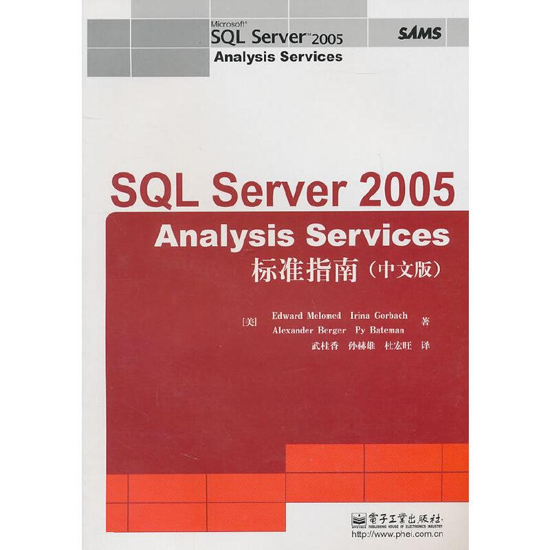 SQL Server 2005 Analysis Services标准指南(中文版)(赠品) PDF下载