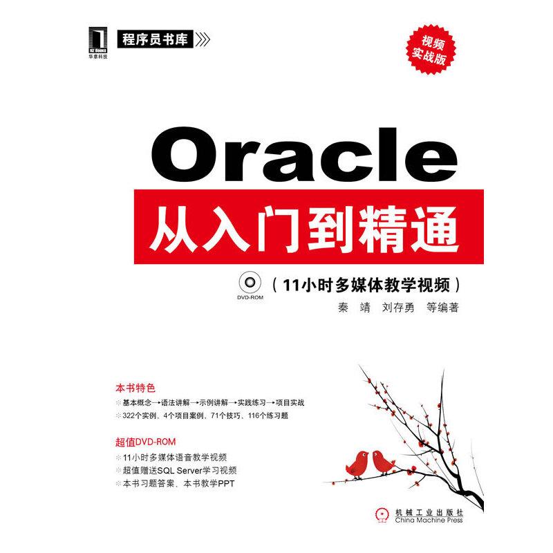 Oracle从入门到精通(视频实战版)(决战大数据时代!IT技术人员不得不读!) PDF下载